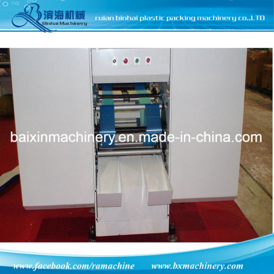 Rolling Plastic Flat Bag Making Machine Factory Supplier pictures & photos
