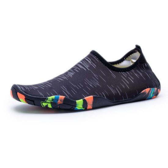 81e3cfce7bc5 Lady Men Adult Lightweight Water Shoes Soft Thin Sole Aqua Neoprene Shoes