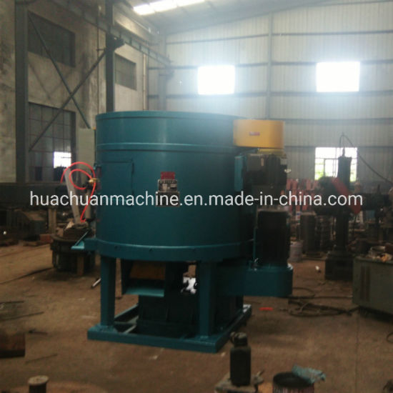 Fixed Type Tilting Double Rotor Sand Mixer