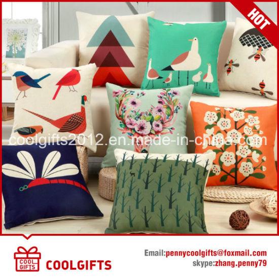 China Wholesale Cotton Linen Square Decorative Pillow Case Cushion Classy Decorative Pillow Covers Wholesale