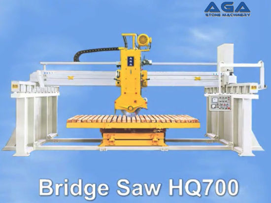 Automatic Bridge Saw with 45 Degree Angle Cut for Marble/Granite Counter Top (HQ700)