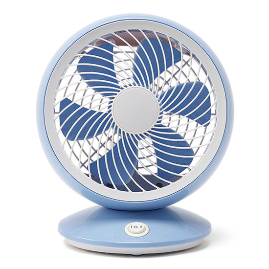 Quiet Desk Fan 6inch Usb Powered Only Abs Housing 90 Degree Rotation Perfect Table Personal Mini Cooling For Home And Office