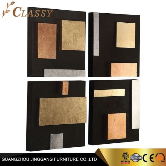 Conbined Metal Sheet Board Wall Decoration for Home Interior Design