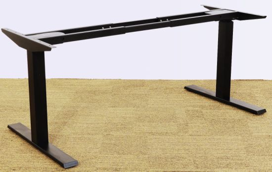 Prime China Black Color Electric Height Adjustable Table Sit Stand Download Free Architecture Designs Scobabritishbridgeorg
