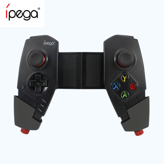 Ipega Pg-9055 Wireless Bluetooth Game Controller Joystick with Stretch Bracket for Ios iPad Android Smartphone/PC/ TV/ TV Box pictures & photos