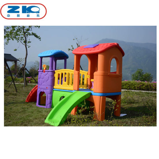 Kids Indoor Playhouse with Slide Children's Play Equipment Indoor Playground