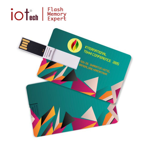 Printable Flat Card USB Memory Stick 8GB 16GB USB pictures & photos