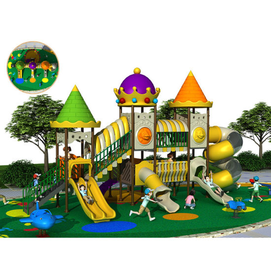 Castle Series Kids Playground Amut Equipment Outdoor Pictures Photos