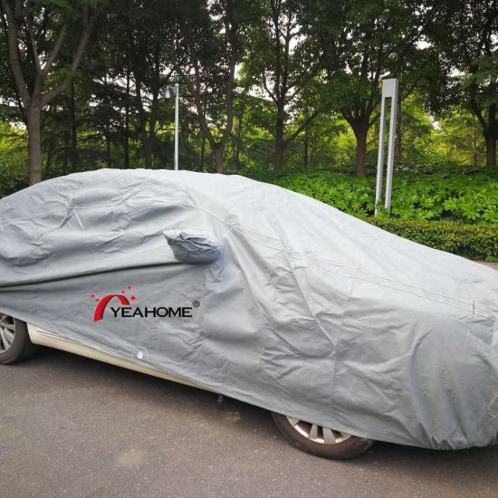 100% UV-Proof and Water-Proof Auto Covers 4-Layer Protection Car Covers