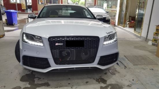Pp Front Bumper Auto Tuning Parts For Audi A5 B8 2007 2012