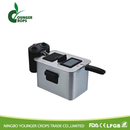 with Observation Window and Light Indicator Deep Fryer pictures & photos