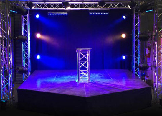 diy portable stage small stage lighting truss. Small Concert Stage Wedding Exhibition Lighting Truss Diy Portable Stage Small Lighting Truss R