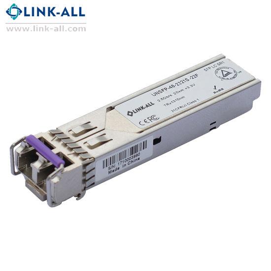 1310nm, 10km, 2.5g SFP Lr Optical Transceiver Module
