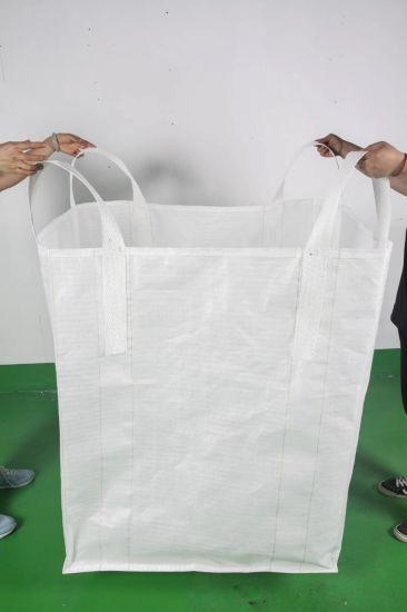 China One Ton 1000kg/1500kg/2000kg/2500kg PP FIBC / Big / Bulk / Jumbo / Sand / Cement / Super Sacks Bag Supply with Factory Price