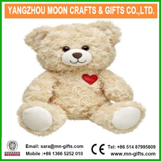 Plush Animal Wholesale Valentine Plush Teddy Bear with Heart