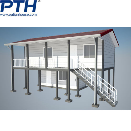Customized Prefabricated Light Steel Structure Vila House pictures & photos