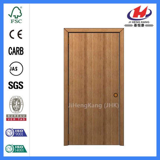 Beau Composite Hollow/Solid Wooden Interior Modern Wood Groove Flush Door  (JHK FC03)