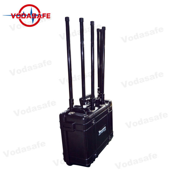 Build-in AC Power DC 27V Battery Mobile Phone Signal Jammer with 4G/3G/2g/WiFi/Gpsl1 pictures & photos