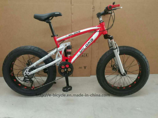 cfe55c5de61 China 20inch Full Suspension Mini Type Snow Bike - China F/R Shock ...
