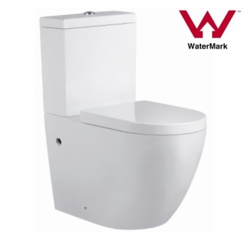 Australian Watermark Approval 4.5/3litre Rimless Wall Faced Round Toilet (2062)
