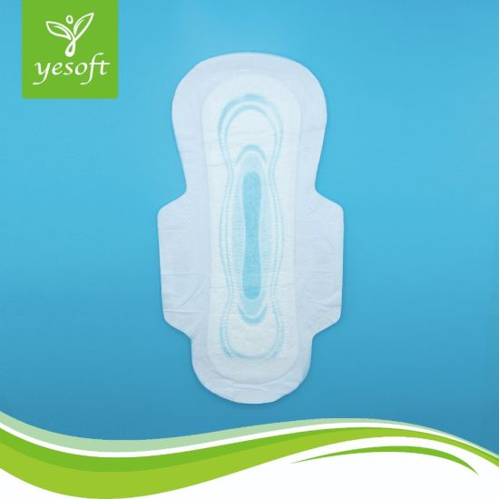 China Women Good Absorption Sanitary Napkins with 300mm