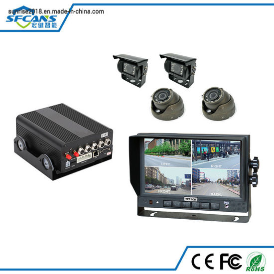 Taxi Car Bus Truck Fleet Management 4G GPS CCTV Camera Recorder Security Mobile Tracking DVR