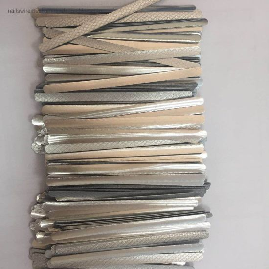 Manufacturer Wholesale High Quality Aluminum Nose Wire Apply to Disposable Mask