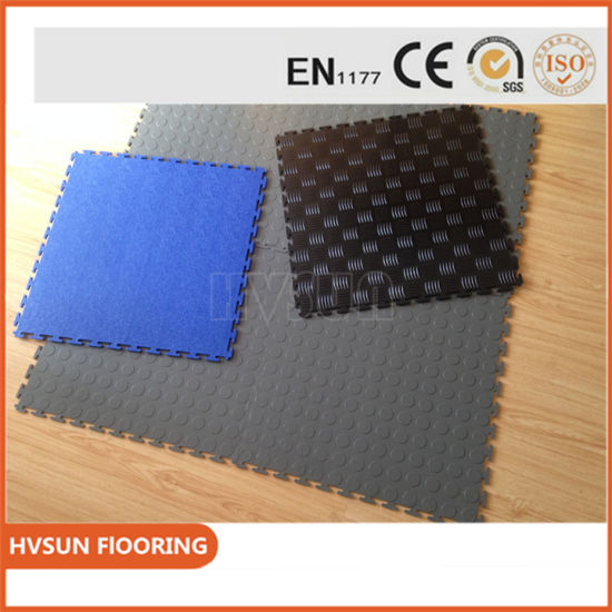 Interlocking Plastic Pvc Vinyl Flooring Tile Hover Board For Free Samples