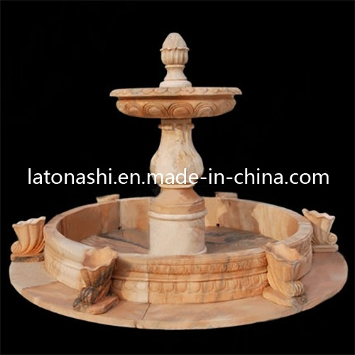 Natural Marble Stone Water Fountain for Outdoor Garden Decorative pictures & photos