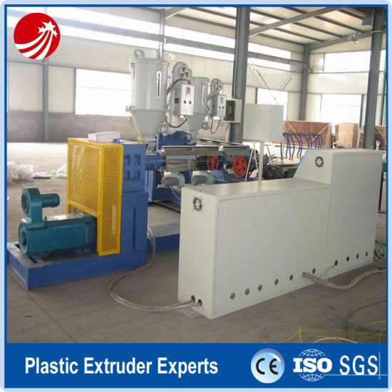 PVC Fiber Reinforced Pipe Tube Production Extruder Extrusion Line