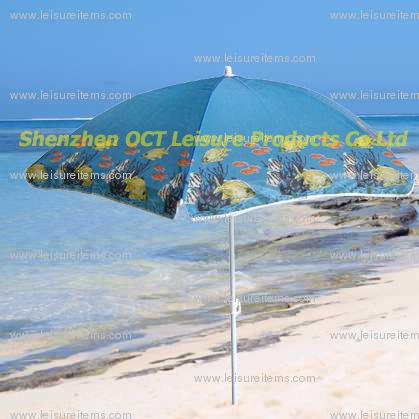 Small Size Beach Umbrella with Nylon Fabric (OCT-BUN16)