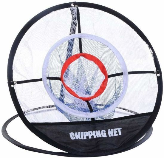 Portable Golf Chipping Net 3-Layer Practice Net for Outdoor Indoor Backyard, Easy to Carry and Foldable Sports Training Equipment Esg12977