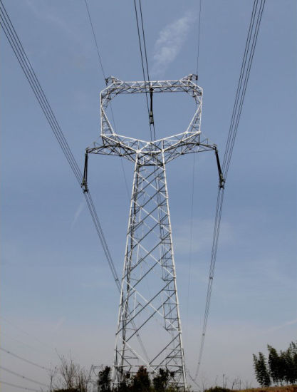 Steel Electric Power Transmission Tower in China