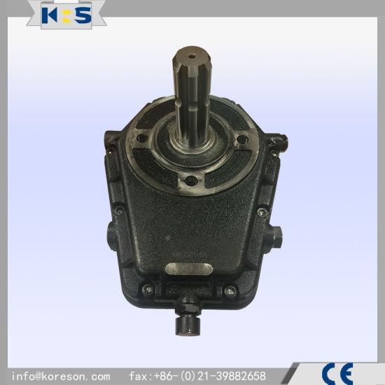 Hydraulic Pto Cast Iron Gearbox Kmt7001 1: 3.5