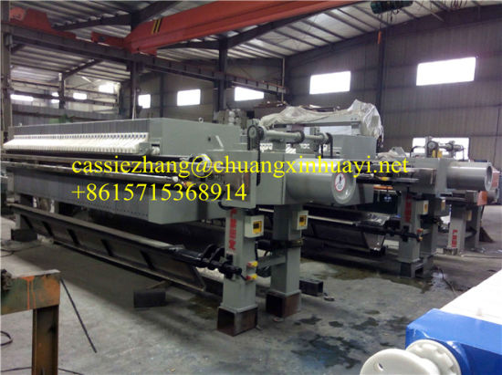 Hydraulic Chamber Filter Press for Sewage Treatment pictures & photos