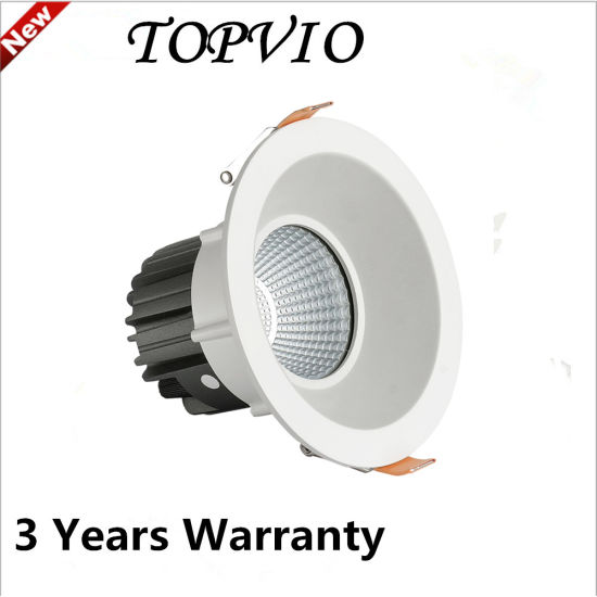 Aluminum Dimmable COB Downlight LED Ceiling Lamp