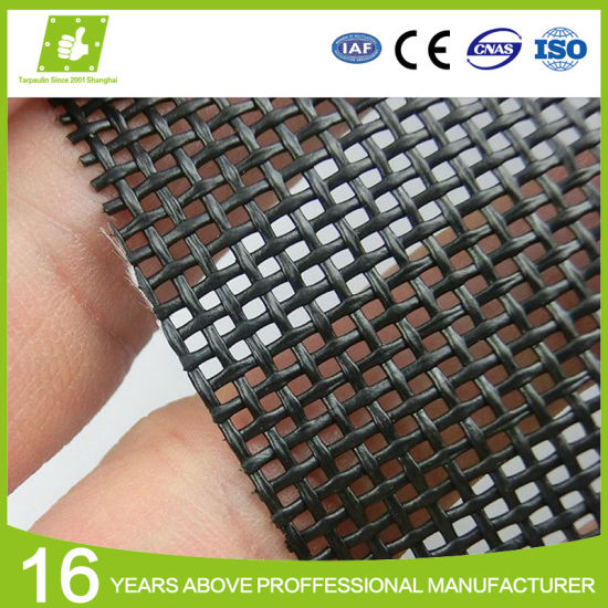 PVC Coated Mesh Fabric for Building Wrap Advertising pictures & photos