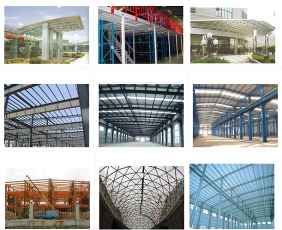 Prefab Large Span Steel Structure for Warehouse and Workshop (ZY268)