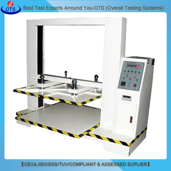 Laboratory Corrugated Carton Box Compression Strength Testing Equipment