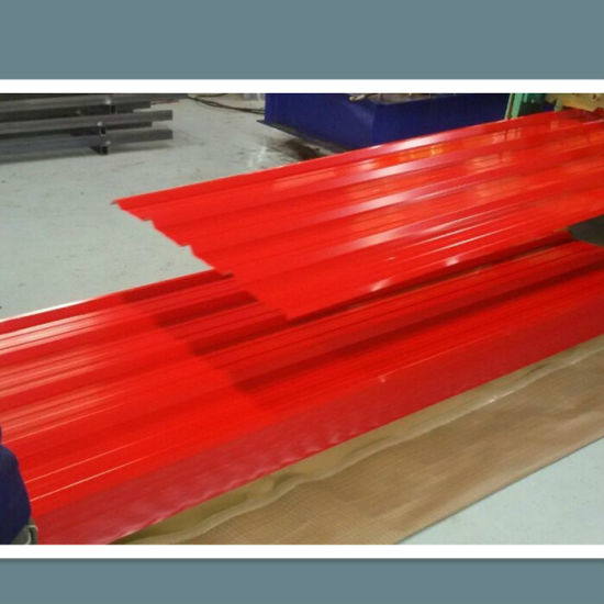 Building Material Pre-Painted Galvanized Corrugated Steel Sheet (roofing sheet) pictures & photos