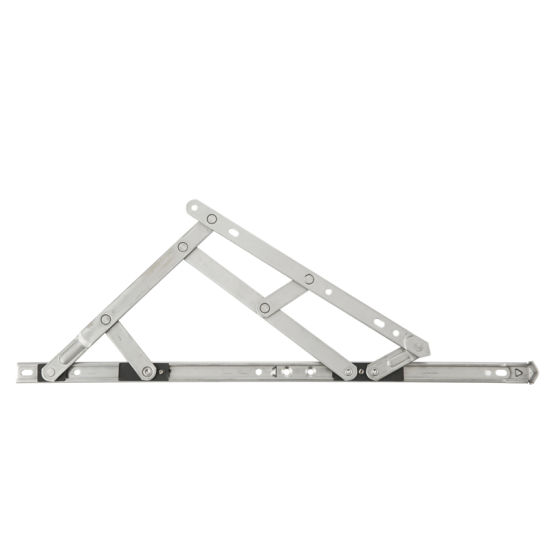Stainless Steel UPVC Top-Hung Casement Window Supporting Point Friction Arm Stay Hinge Aluminum Square Groove Friction Stay Bar Hinge Phxz18b