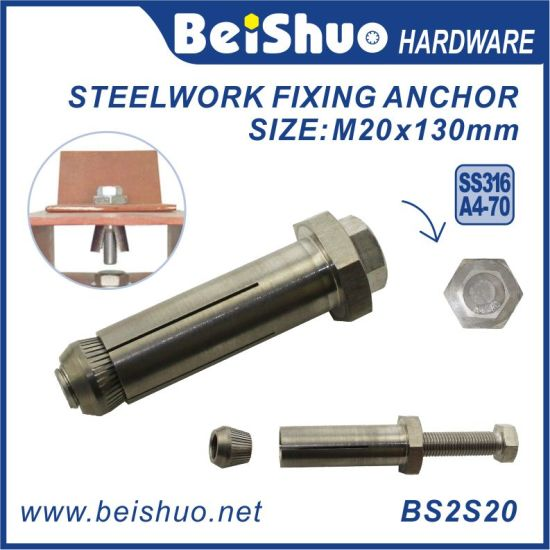 China M20 Stainless Steel Anchor Bolt Extension Fix Bolt Blind Bolt Connectors China Anchor Bolt Expansion Anchor Bolt