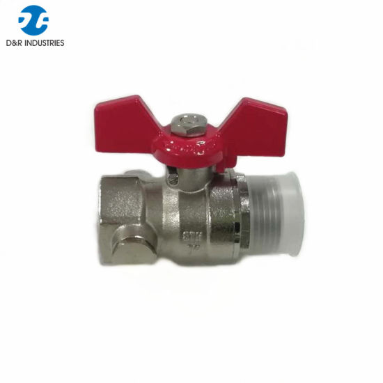 All Brass Copper High Quality Water Oil Gas Ball Valve pictures & photos