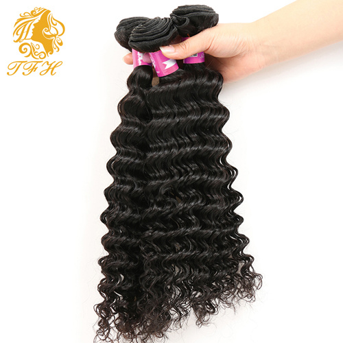 7A Virgin Brazilian Human Hair Extension Brazilian Hair Weaving (TFH-182) pictures & photos