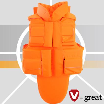 Floatation Aramid Full Protection Bullet Proof Jacket Nij 0101.06 Certified