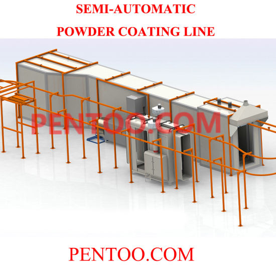 High Quality Powder Coating Equipment Painting Line for Pretreatment