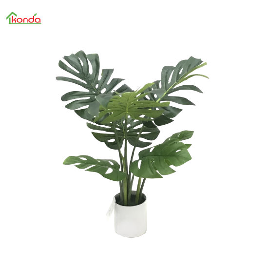 Low Cost High Quality Artificial Green Plant Monstera