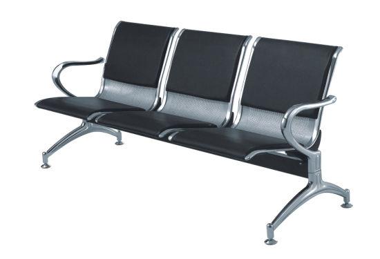 Metal Steel 3 Seater Cheap Price Public Waiting Bench Chair Ya 25
