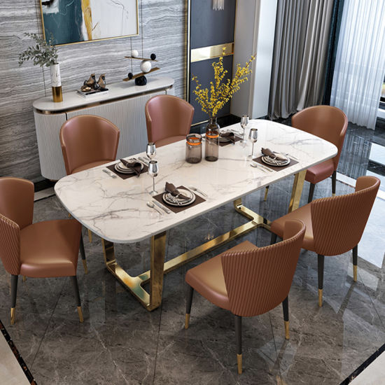 China Luxury Modern Style Dining Table, Modern Style Dining Room Chairs