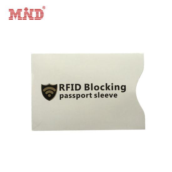 Aluminum Foil Passport Credit Card Protector RFID Blocking Card Sleeve
